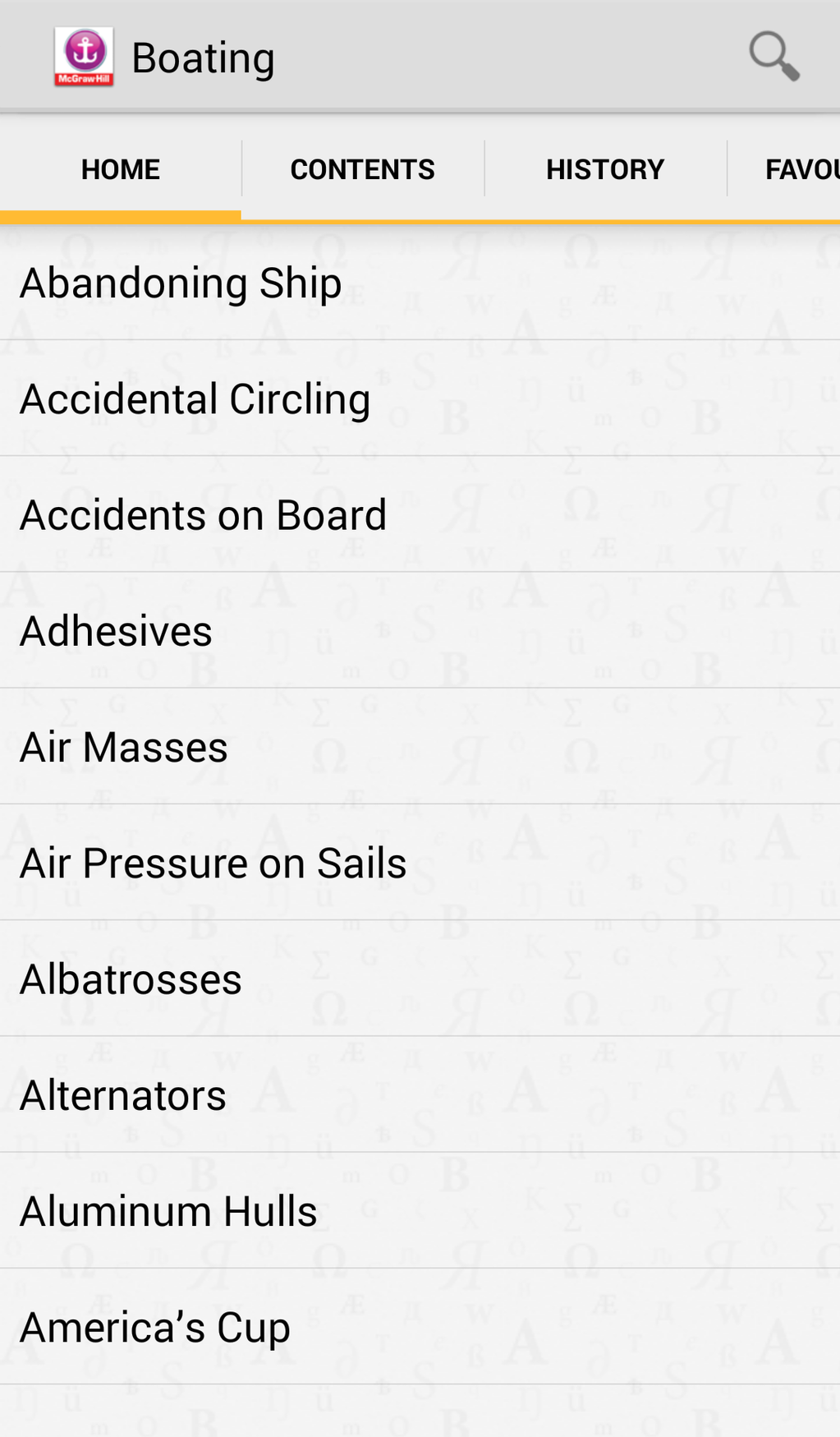 The Practical Encyclopedia of Boating Screenshot 3