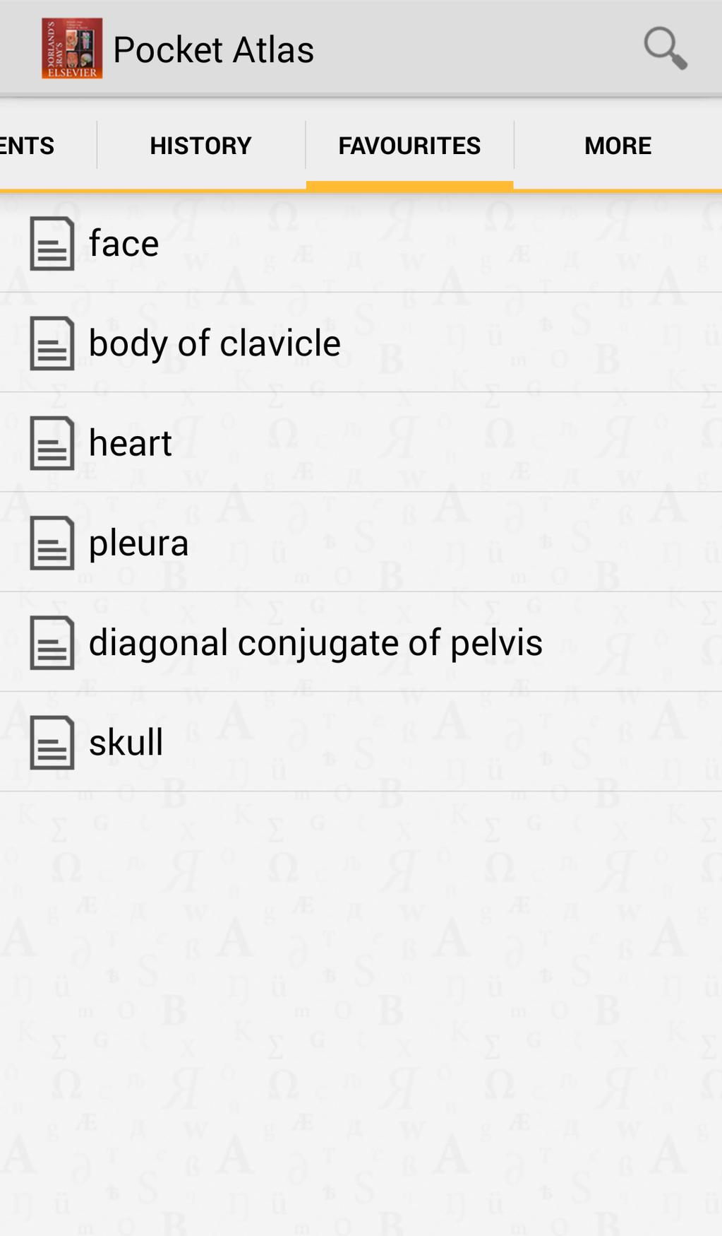 Dorland's Gray's Pocket Atlas of Anatomy Screenshot 5