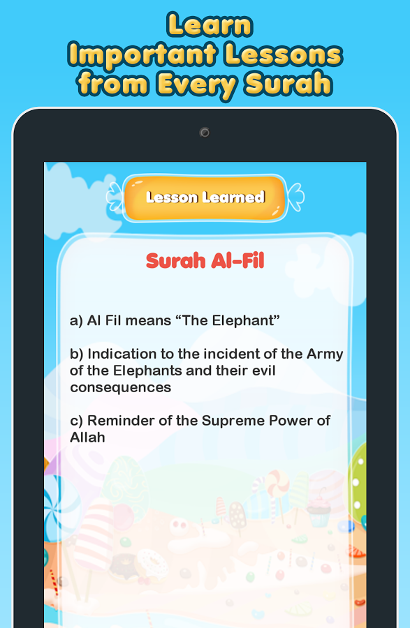 10 Surah for Kids Word By Word Screenshot 6