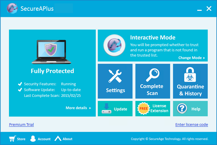 SecureAPlus Screenshot