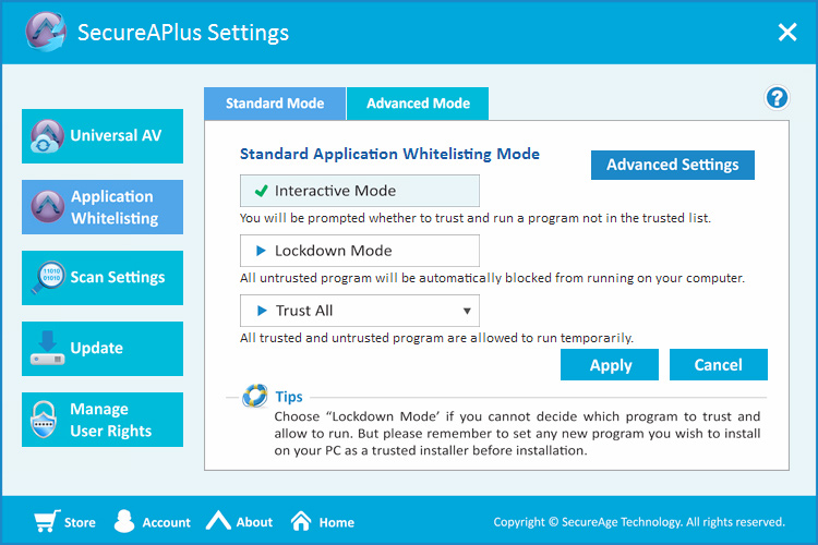 SecureAPlus Screenshot 5
