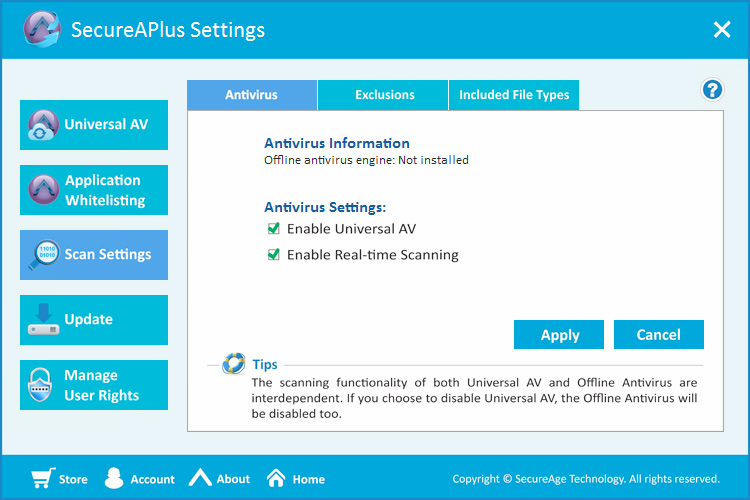 SecureAPlus Screenshot 6