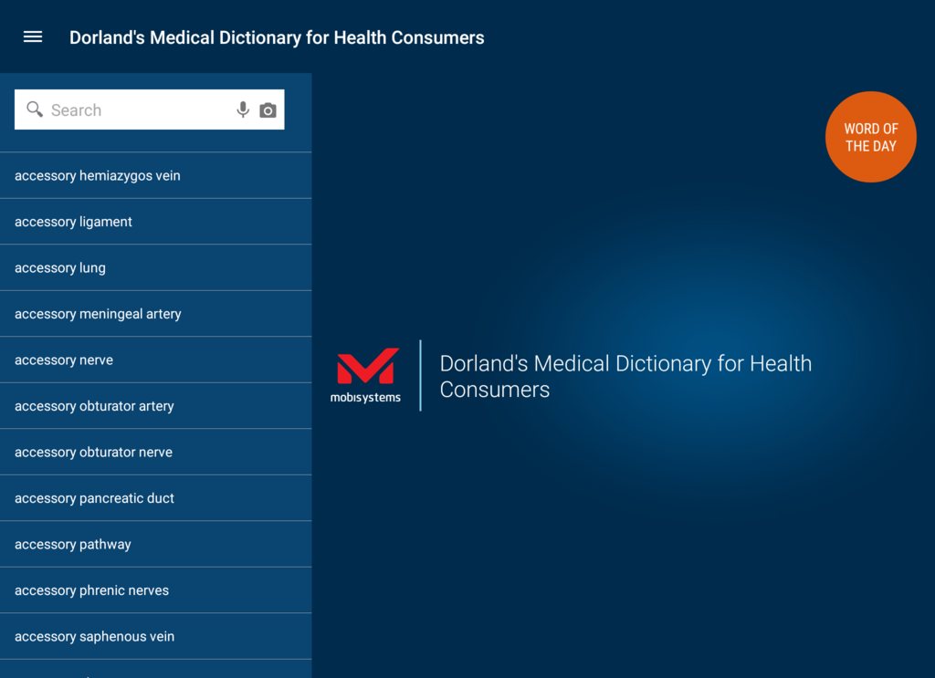 Dorland's Medical Dictionary Screenshot 7