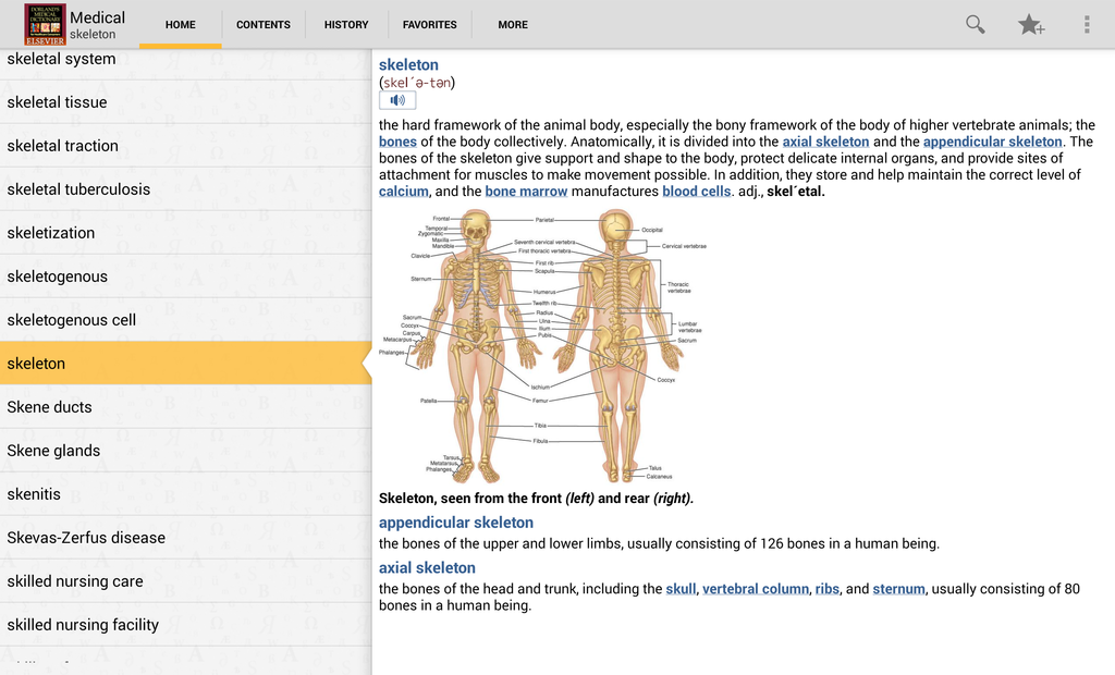 Dorland's Medical Dictionary Screenshot 17