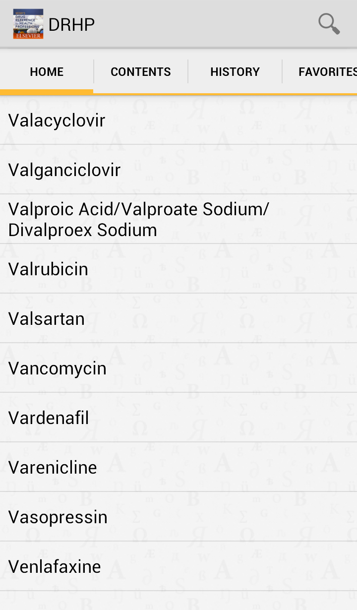 Mosby's Drug Reference for Health Professions Screenshot 4