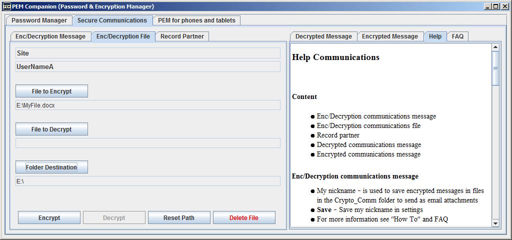 PEM Companion Screenshot 8