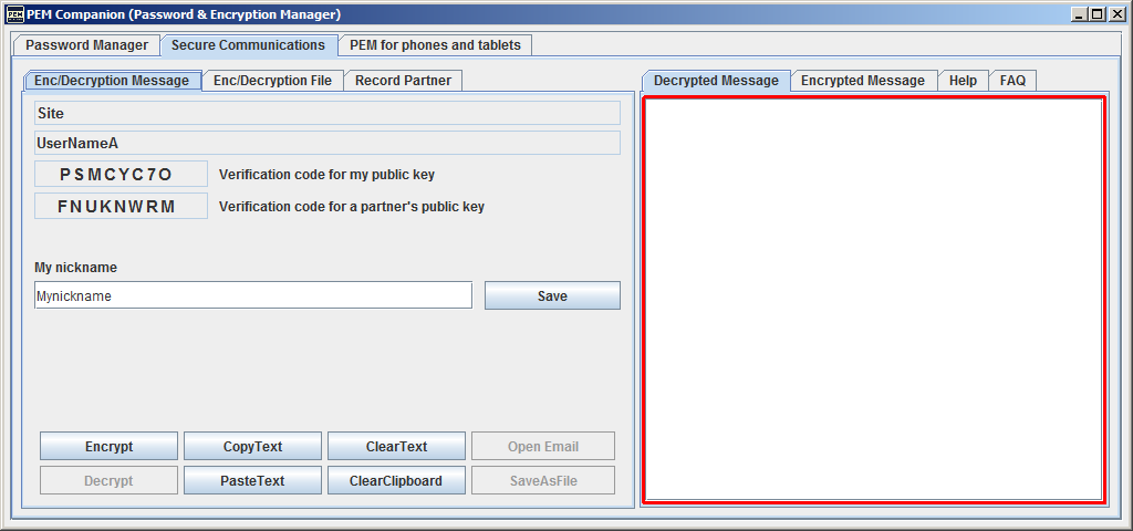 PEM Companion Screenshot 9