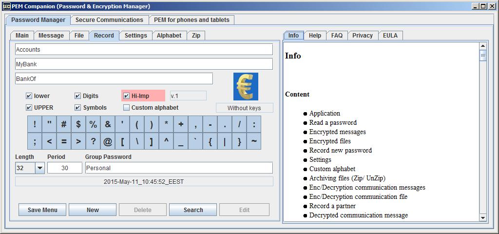 PEM Companion Screenshot 4