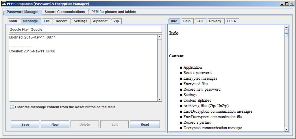PEM Companion Screenshot 2