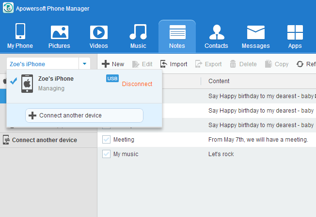 Apowersoft Phone Manager Screenshot 3
