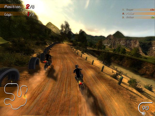 Super Moto Racers Screenshot 2