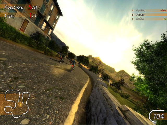 Super Moto Racers Screenshot