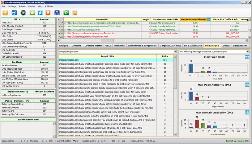 BacklinksXRay Screenshot 5