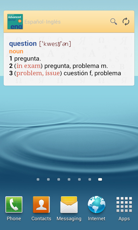 Vox Advanced EnglishSpanish Dictionary Screenshot 8