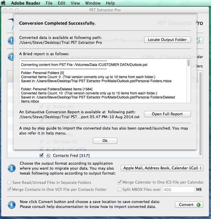 PST Extractor Pro Screenshot 6