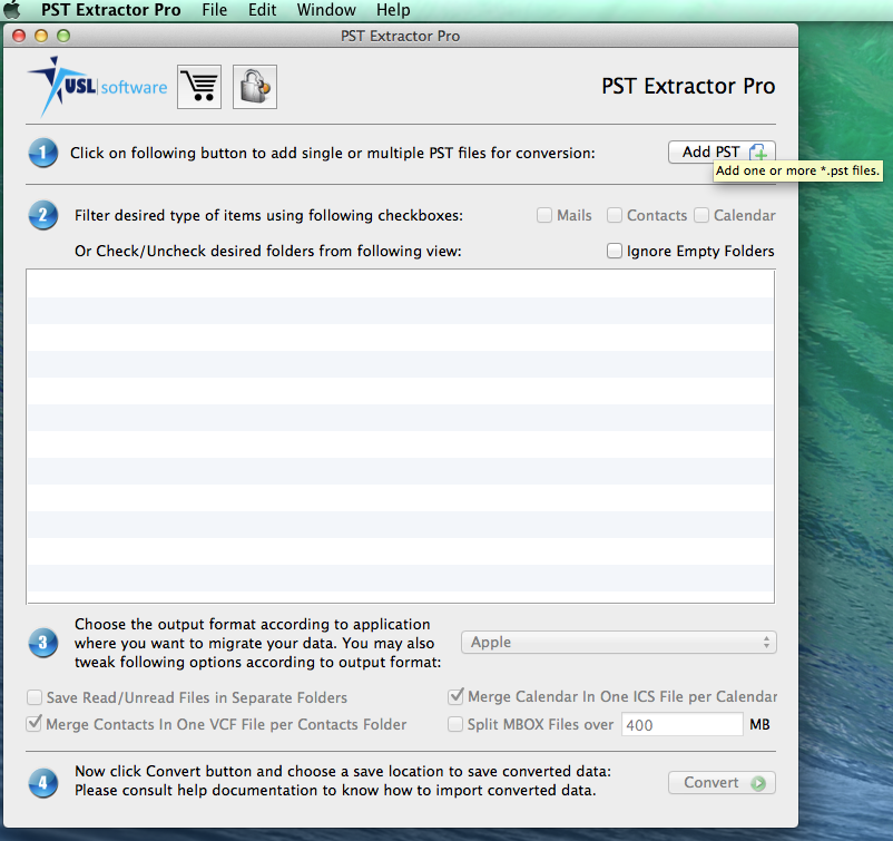 Download PST Extractor Pro 1 1 for Mac Free