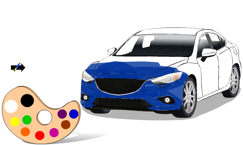 ColorMe: Cars Screenshot 1