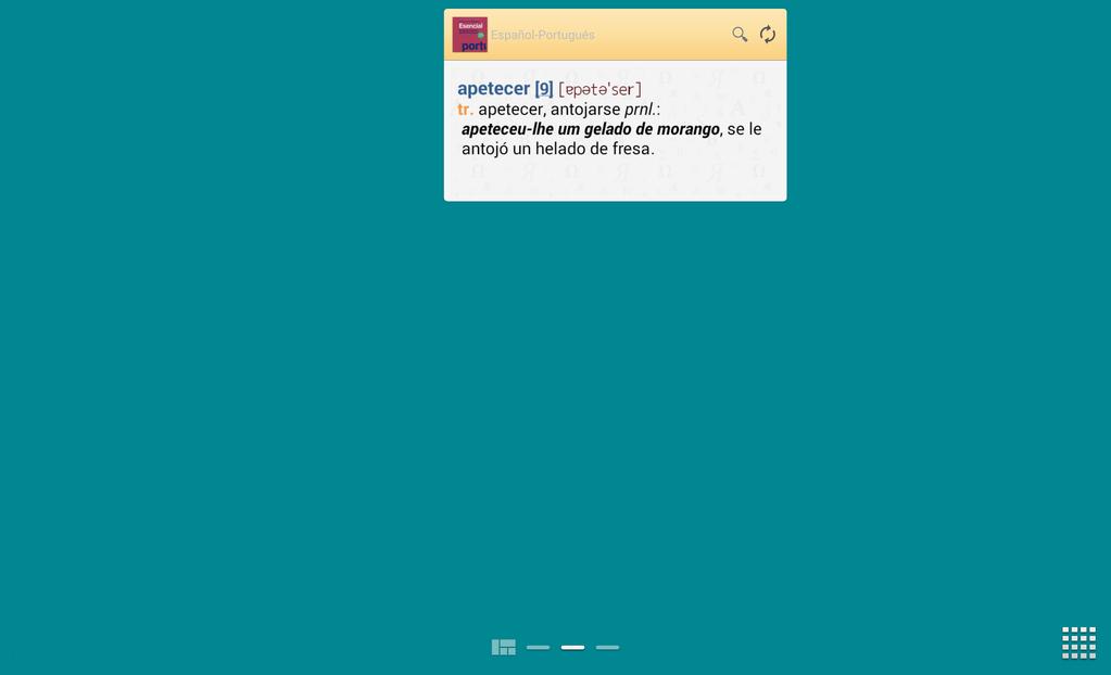 Vox Essential PortugueseSpanish Dictionary Screenshot 8