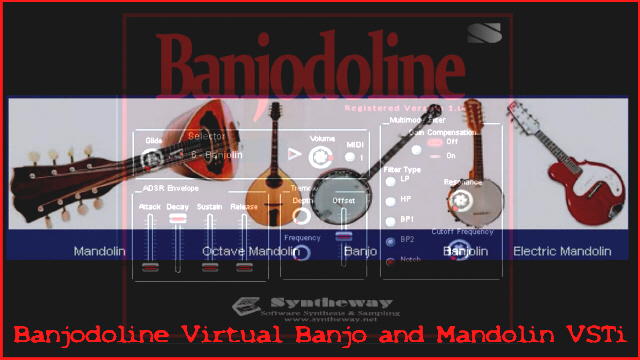 Banjodoline Virtual Banjo & Mandolin VSTi Screenshot 4