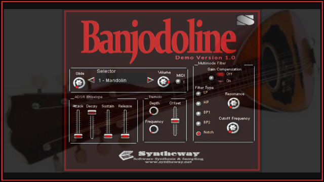 Banjodoline Virtual Banjo & Mandolin VSTi Screenshot 5