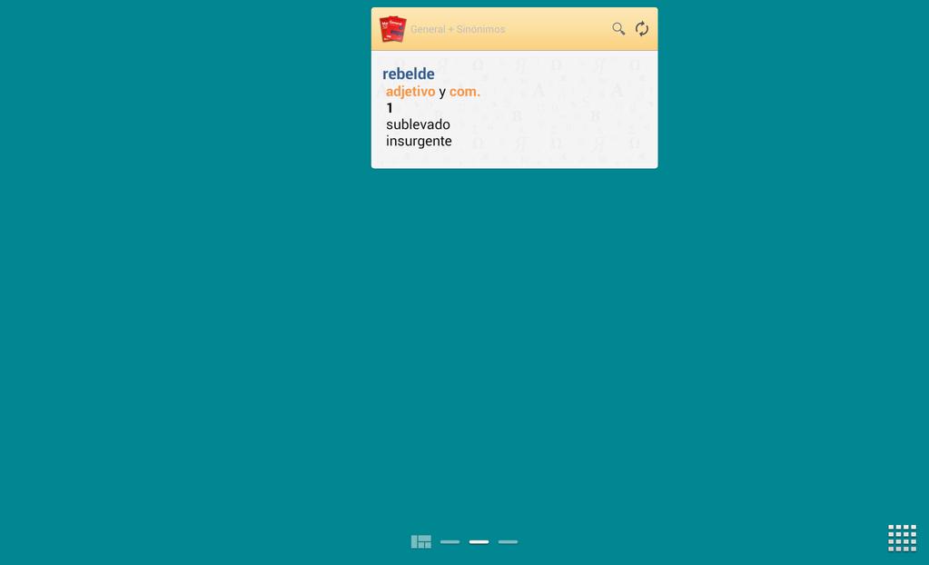 Vox General Spanish Dictionary and Thesaurus Screenshot 9