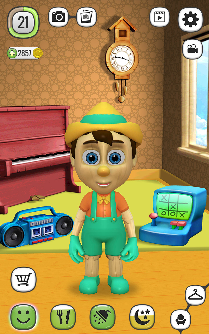 My Talking Pinocchio Screenshot