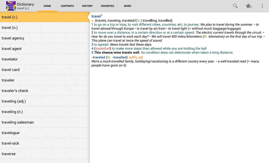 Kernerman Advanced English Dictionary Screenshot 4