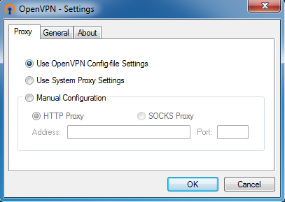 OpenVPN Screenshot