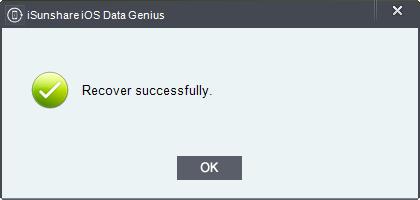 iSunshare iOS Data Genius Screenshot 6