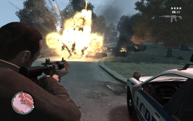 Grand Theft Auto IV Screenshot 3