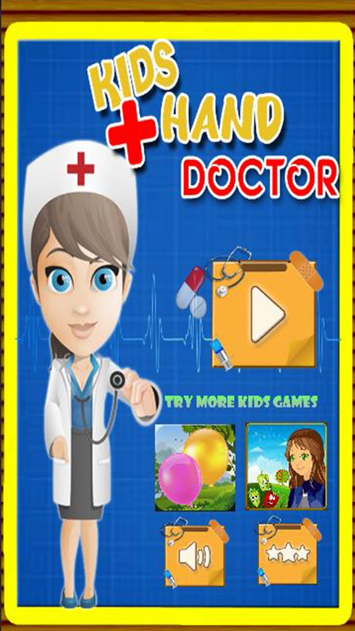 Baby Girl Hand Doctor Kid game Screenshot