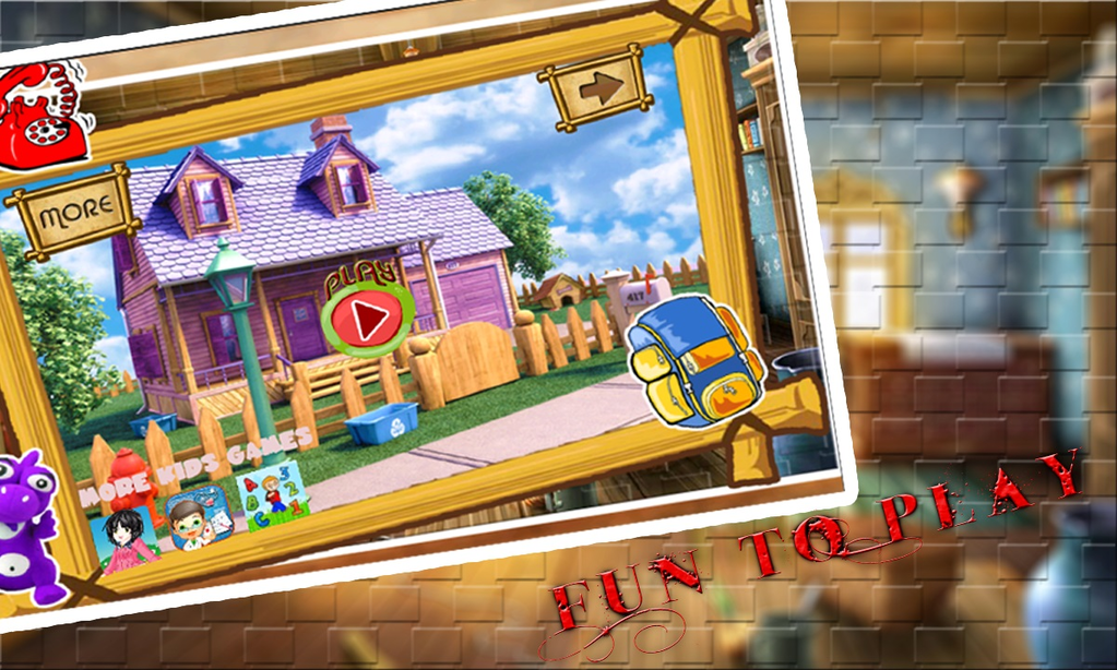 Sweet baby Dream House Puzzle Screenshot