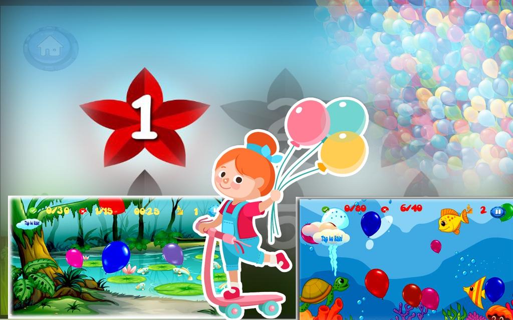 Pop Colorful Balloon:Boom dash Screenshot 2
