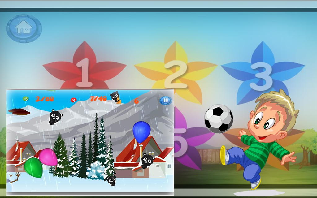 Pop Colorful Balloon:Boom dash Screenshot 4