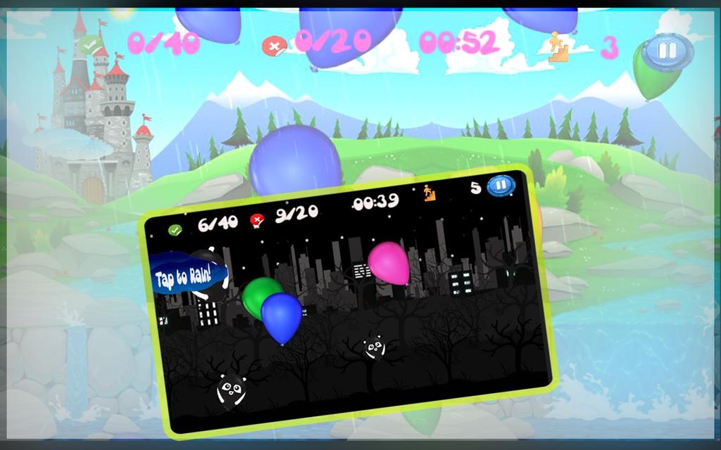 Pop Colorful Balloon:Boom dash Screenshot 3