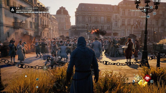 Assasins Creed Unity Screenshot