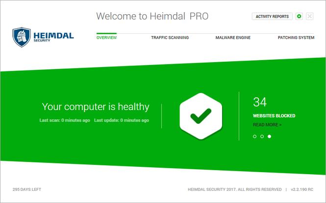 Heimdal PRO Screenshot