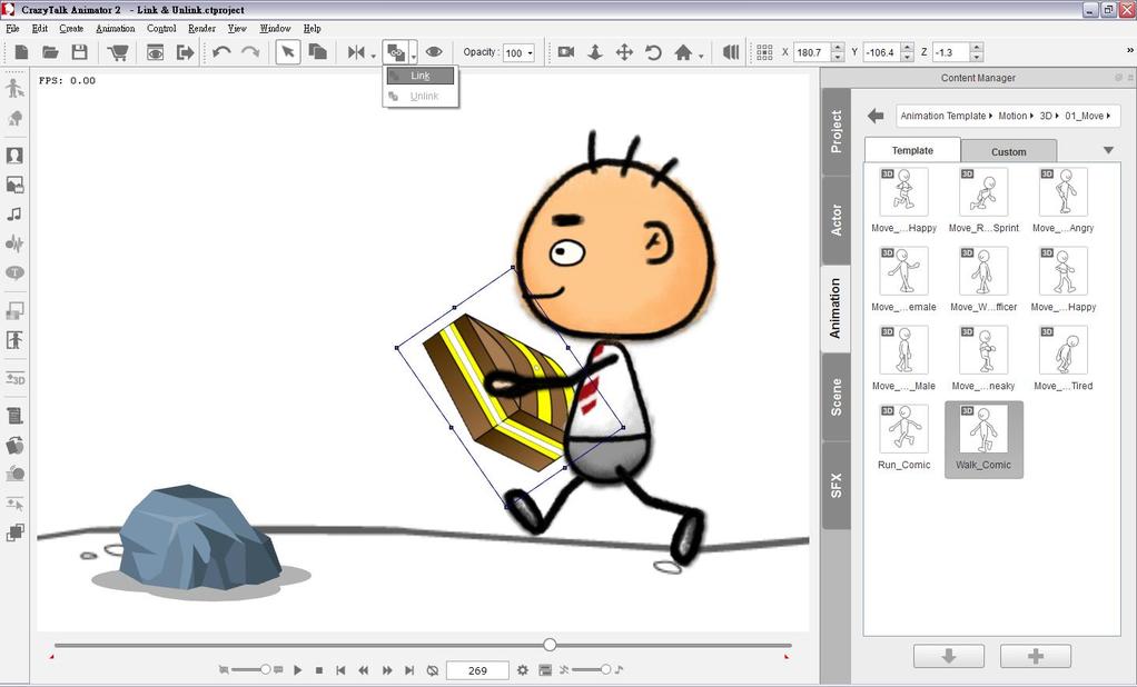 CrazyTalk Animator Screenshot 5