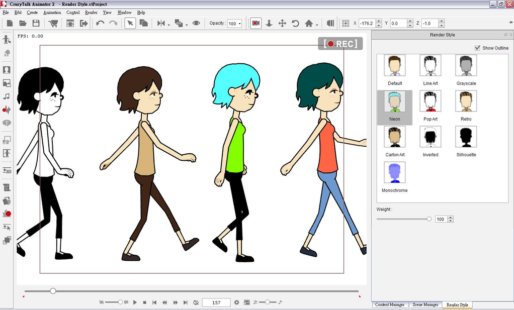 CrazyTalk Animator Screenshot 7