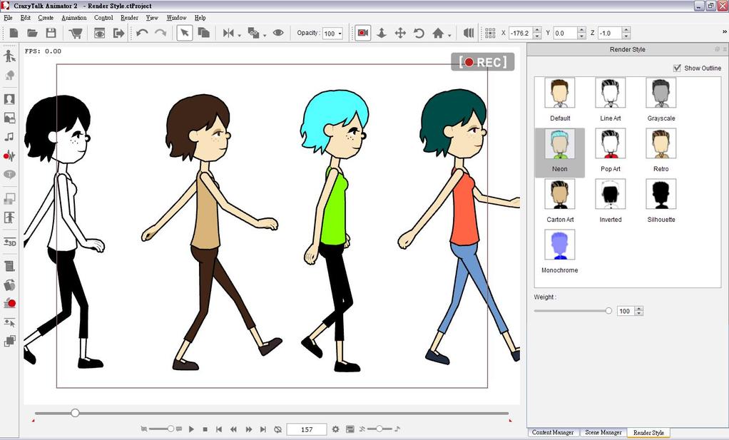 CrazyTalk Animator Screenshot 11