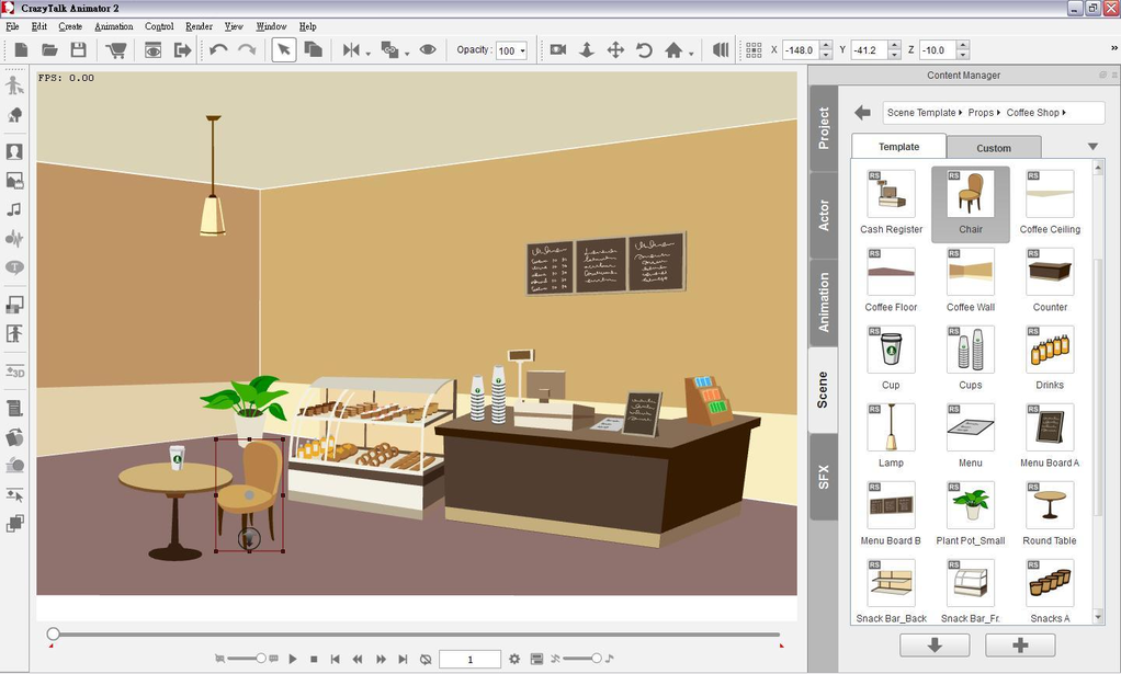 CrazyTalk Animator Screenshot 9