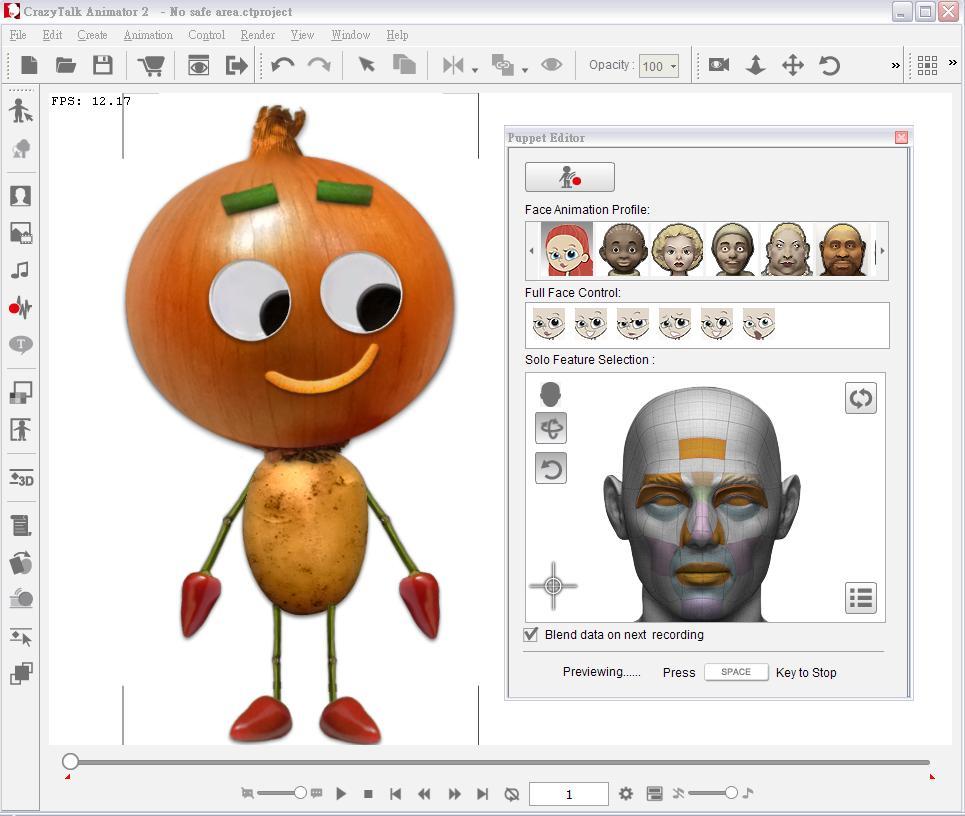 CrazyTalk Animator Screenshot 3