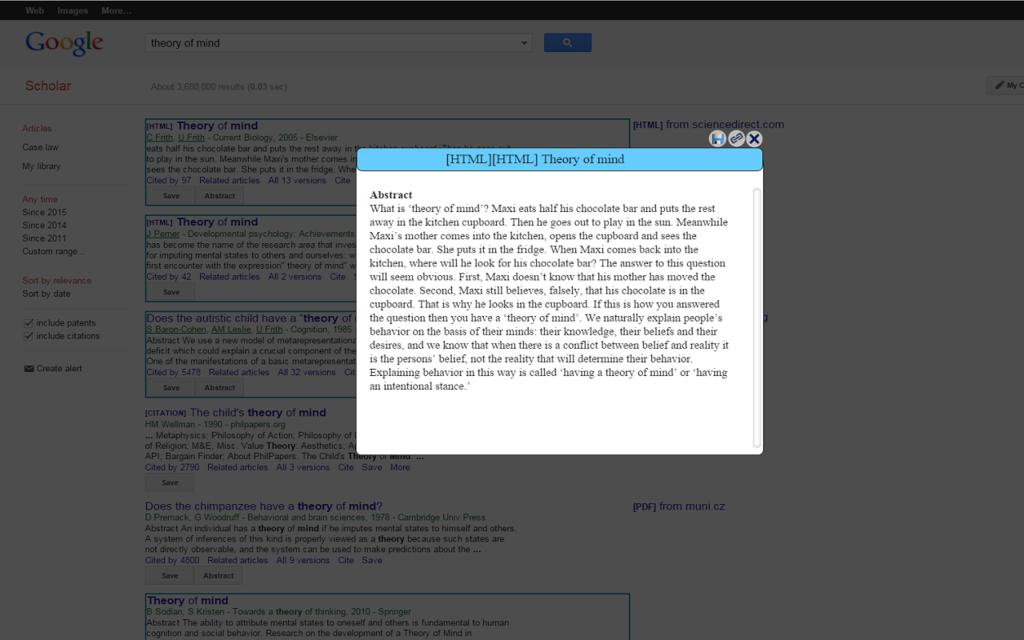 Scholar Manager Screenshot 2