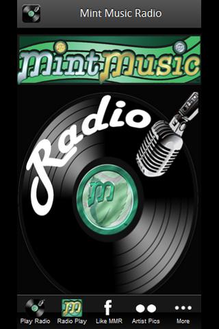 Mint Music Radio Screenshot 1