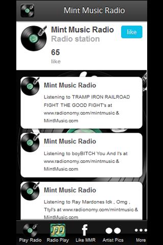 Mint Music Radio Screenshot 3