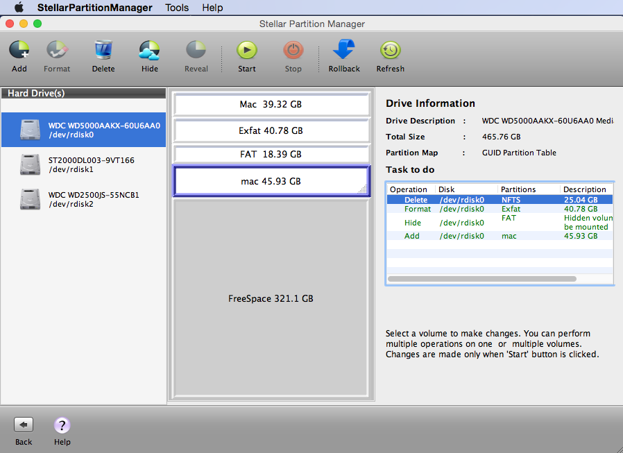 Stellar Partition Manager Screenshot 4