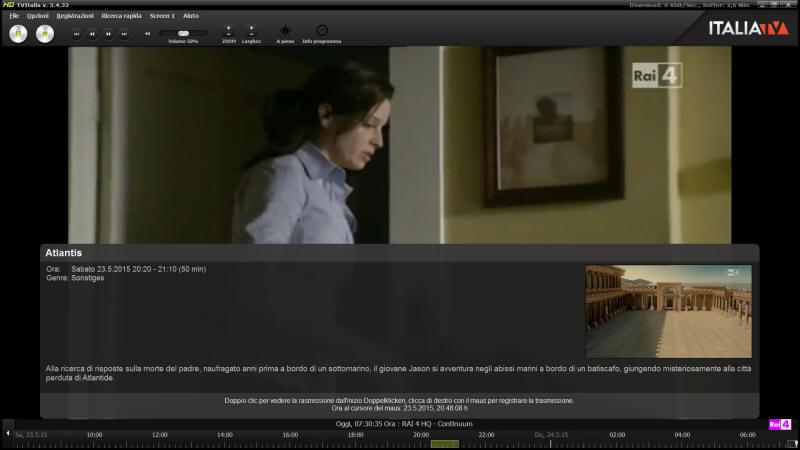 Russia TV - HD IP Player Screenshot 2