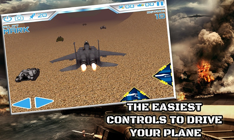 Air Force Combat Raider Attack Screenshot