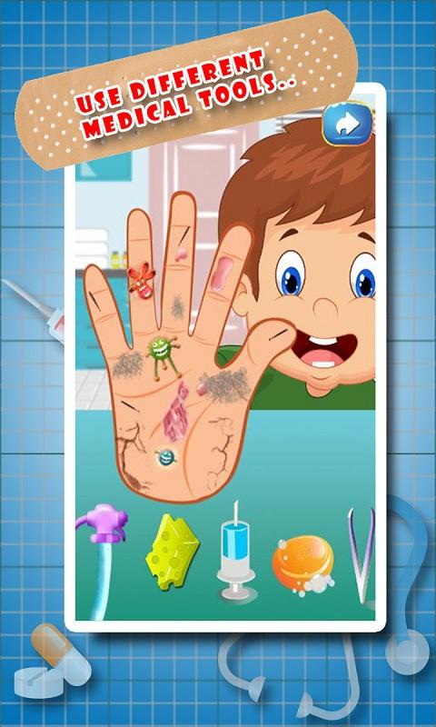 Little Hand Doctor Screenshot 2