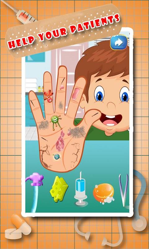 Little Hand Doctor Screenshot 7